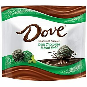Dove Promises Dark Chocolate Mint Swirl Candy