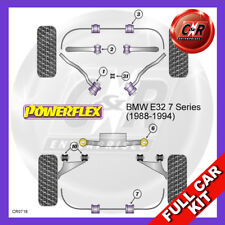 BMW E32 7 Series 740 & 750 (1988-1994)  Powerflex Complete Bush Kit