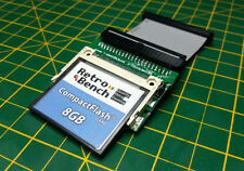 COMMODORE AMIGA 600 1200 A600 A1200 8 GB COMPACT FLASH Hard Drive IDE Kit Adattatore