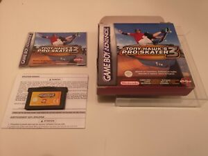 Tony Hawk's PRO SKATER 3 GBA Game Boy Advance CIB 100% Original Not reproduction