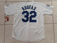 SANDY KOUFAX LOS ANGELES DODGERS 1958 THROWBACK JERSEY