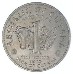 1970 Guyana 1 Dollar - Berbice Revolt - TC *850