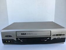 Rca Vr637Hf AccuSearch 4Head Hi Fi Stereo Vcr Good Condition Tested!