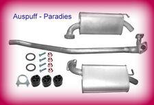 Abgasanlage Auspuff Mazda 6  2.0 (147PS) Typ GG & GY Limo & Kombi ab 03/2005+Kit