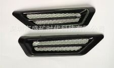 2 Pcs Black Car SUV Air Flow Side Mesh Vent Fender Decoration Sticker For Nissan