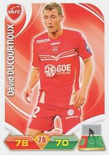 DAVID DUCOURTIOUX VALENCIENNES.FC TRADING CARDS ADRENALYN PANINI FOOT 2013
