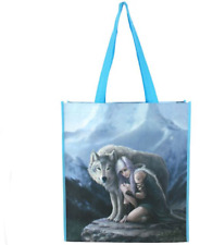 Anne Stokes Protector Large DESIGNER Tote Shopping Bag