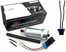 NPboosted 400LPH Intank Fuel Pump Kit & Wire Harness / Filter / Hose / Clamps