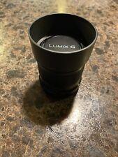 Panasonic Lumix G 42.5mm F/1.7 ASPH. POWER O.I.S. Black