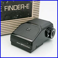 ZENZA BRONICA ETR AE FINDER-E viewfinder mirino exposure meter metered I prism