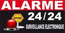 6 Stickers autocollant alarme diagral maison protection. 5 X 2 CM