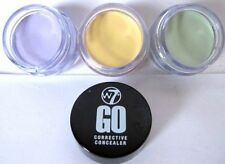 W7 Go Corrective Concealer Pot 7g ❤ Yellow Green Lavender ❤ Buy 5 & Get 1 3 X Green