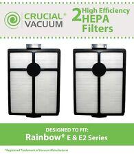 2 Rainbow Rexair E & E2 HEPA Filters Vacuum Part # R7292 & R12107B