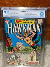Hawkman #1 CBCS 9.2 (R) DC 1964 1st Hawkman in title! JLA! Free CGC Mylar! cm
