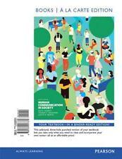 Human Communication in Society, Books a la Carte Edition Plus REVEL -- Access...