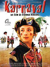 Affiche 120x160cm KARNAVAL (1999) Sylvie Testud, Amar Ben Abdallah TBE #