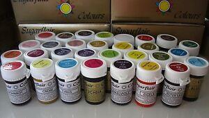 Leuchtendes Pastenkonzentrat Lebensmittelfarbe Sugarflair freie Farbwahl, 25g