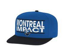 Montreal Impact adidas Dassler Flat Brim Two-Tone Snapback Adjustable Hat