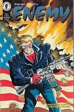 Enemy no-1-5/1994 Steven Grant Christopher Schenck Shepherd Hendrix Mike Zeck