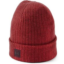 Under Armour Men's Top Truck 2.0 Beanie Hat Winter Hat Red Maroon 1318517-890