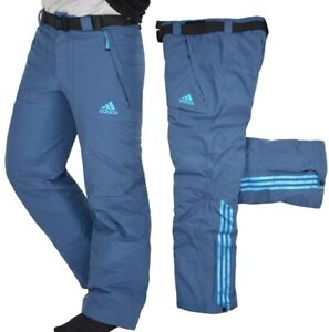 Adidas Herren Skihose Event Pant Tourenhose Winter Hose Schneehose Ski Pant blau