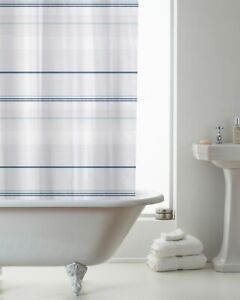 New Design PEVA Bathroom Shower Curtain 180cm x 180cm With Hooks & Hookless
