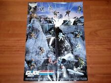 "1989 GI JOE MAIL OFFER ""STICKER POSTER"" HASBRO BENELUX NL BE"