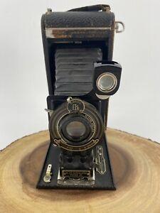Vintage No. 2-C Autographic Kodak Junior Model A Folding Camera c. 1920 A-130