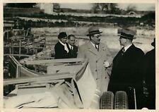 LOT 6 PHOTOGRAPHIES CHANCELIER SCHUSCHNIGG 1935/38 COPYRIGHT TRAMPUS #02