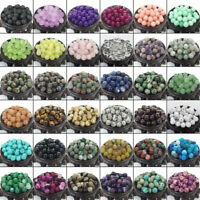 DIY Jewelry Making Natural Gemstone Stone Round Loose Beads Lot 4mm 6mm 8mm 10mm