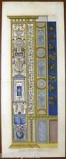 """Ornata-Pilaster-rame chiave-Giovanni Ottaviani - """"Raffael Santi d'Urbino"""" 1775"""