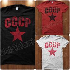T-Shirt Maglietta CCCP Esercito Unione Sovietica Comunista Russia URSS Uomo C
