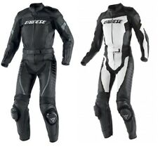 Dainese Ladies Racing Div 2 Piece Motorcycle Leather Suit