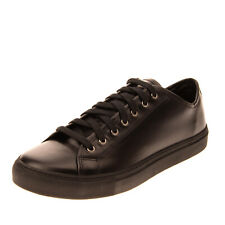 RRP €220 DIEMME Leather Sneakers EU 45 UK 11 US 12 Lace Up Made in Italy