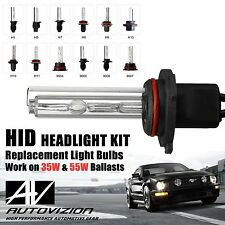Two Xenon HID Kit 's Replacement Light bulb 9004 9007 h1 h4 9006 9005 h13 h7