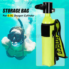 Storage Bag For Diving Oxygen Cylinder 600D Oxford Cloth 6×36cm/2.4×14.2""