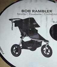 New Bob Rambler Jogging Stroller in Black Model U851927 Running Air Filled Tires