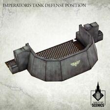 Imperatoris Tank Defense Position Kromlech HDF Tabletop Scenics KRTS112