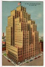 The Bell Telephone Building, 1930 - 1945 St. Louis, MO Postcard