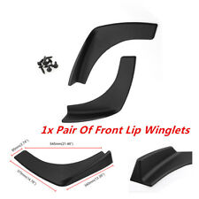 Universal Fit Front Rear Bumper Lip Splitters Winglets Canards 2PC Instrument