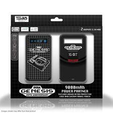 Wholesale Lot - 10pc SEGA Genesis System Style 9000mAh Portable External Battery