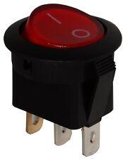 Interrupteur commutateur contacteur bouton à bascule orange SPST ON-OFF 6,5A/250