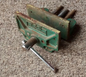 woodworking bench  VICE  P & B      6 inch wide jaws