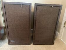 ALTEC 893C Speakers Altec Lansing Wood Cabinet Very Nice Tested Works Great