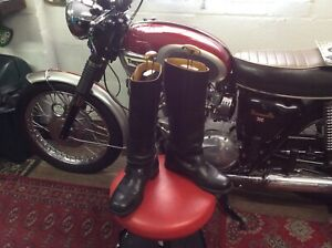 Gold Top Motorcycle Boots (7)