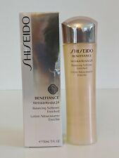New Shiseido Benefiance WrinkleResist24 Balancing Softener Enriched 5oz / 150ml