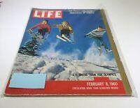 Life Magazine: Feb 8 1960 U.S Skiers Train For Olympics