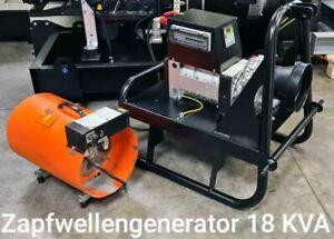 Zapfwellengenerator 18 kVA mit AVR - NEU Zapfwelle Stromerzeuger