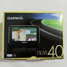 """Garmin Nuvi 40 4.3"""" GPS Vehicle Navigation System Complete in Box"""