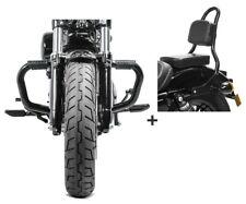 Barra antipánico + sissybar s1 para Harley sportster 883 04-10